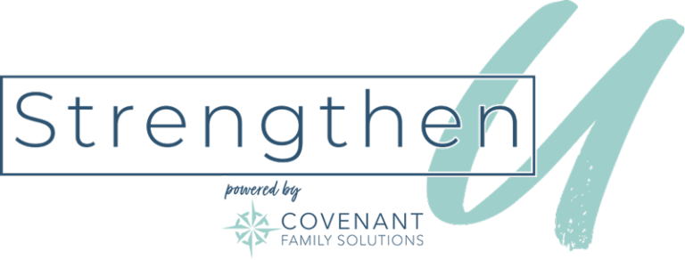 StrengthenU Powered by Covenant Family Solutions Logo